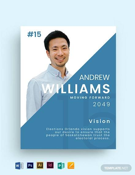 vision political flyer template