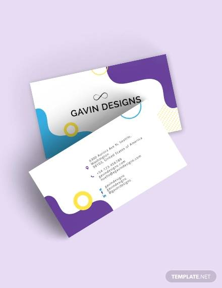 creative business card for designers