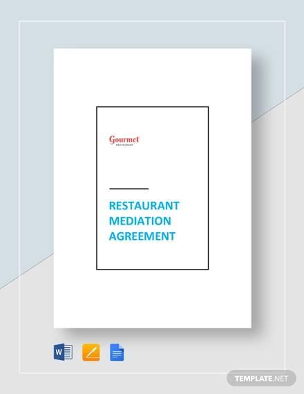 restaurant mediation