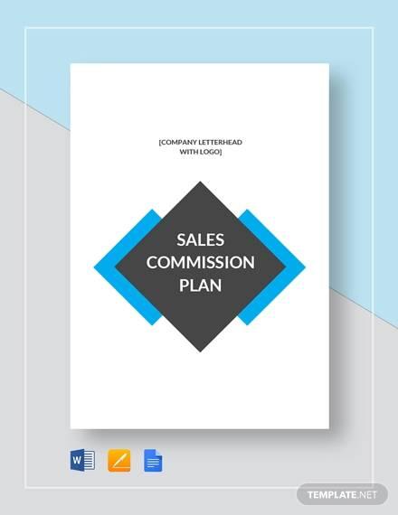sales commission plan