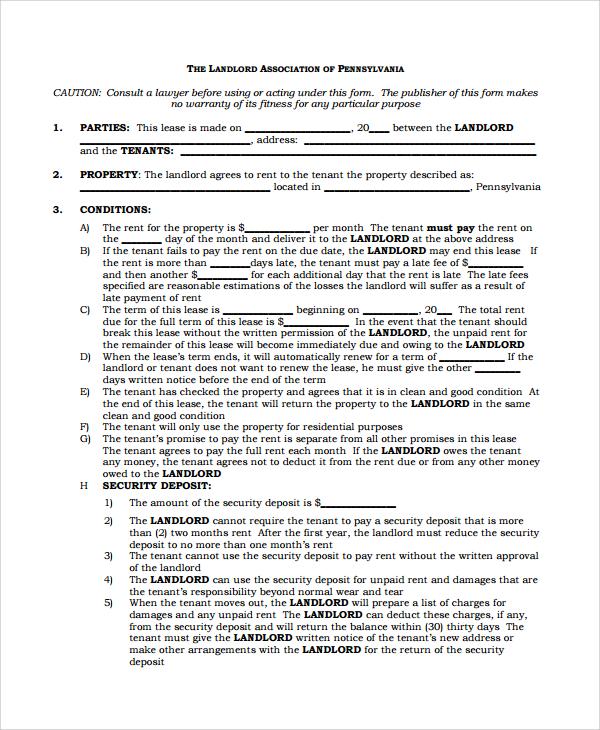 agreement templates sample template
