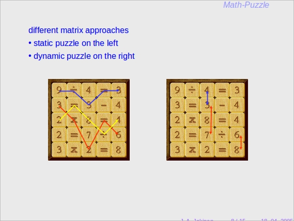 puzzle presentation ppt