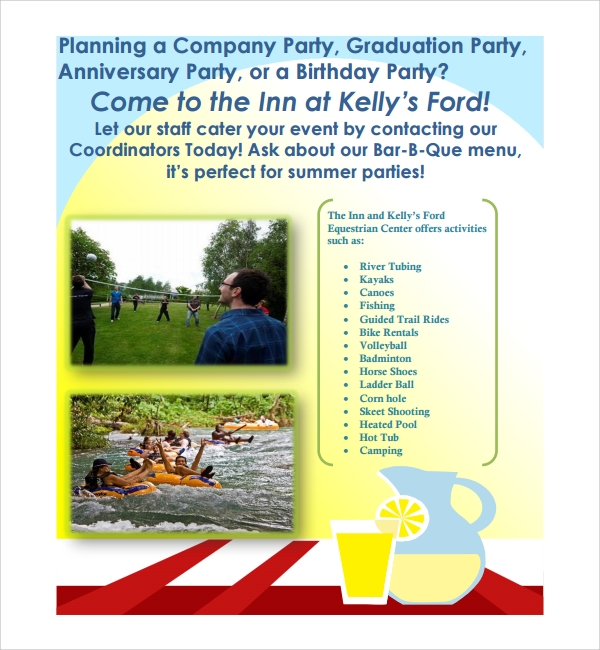 Company Picnic Invitation Template  Company Party Invitation Templates