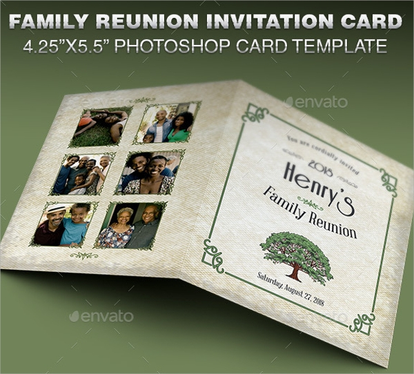 family picnic invitation template