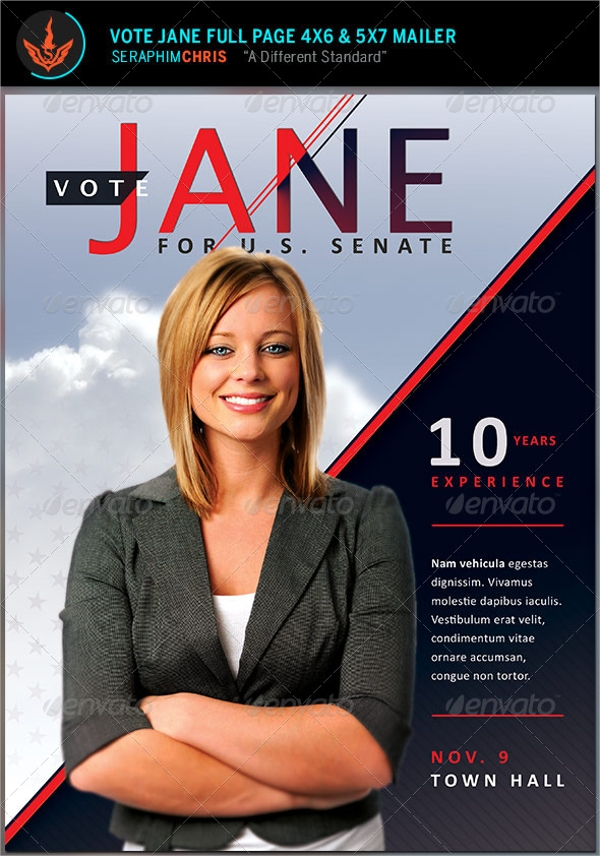 jane political flyer