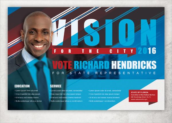 vision political flyer