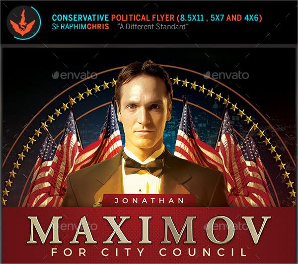 conservative political flyer