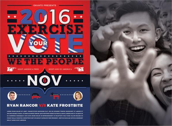 fabulous political flyer
