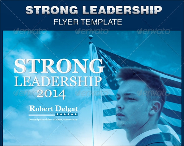 12  political flyer templates