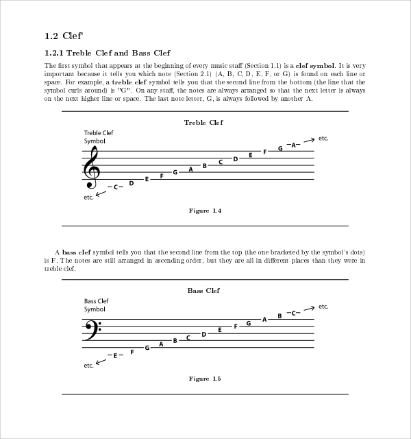 musical template