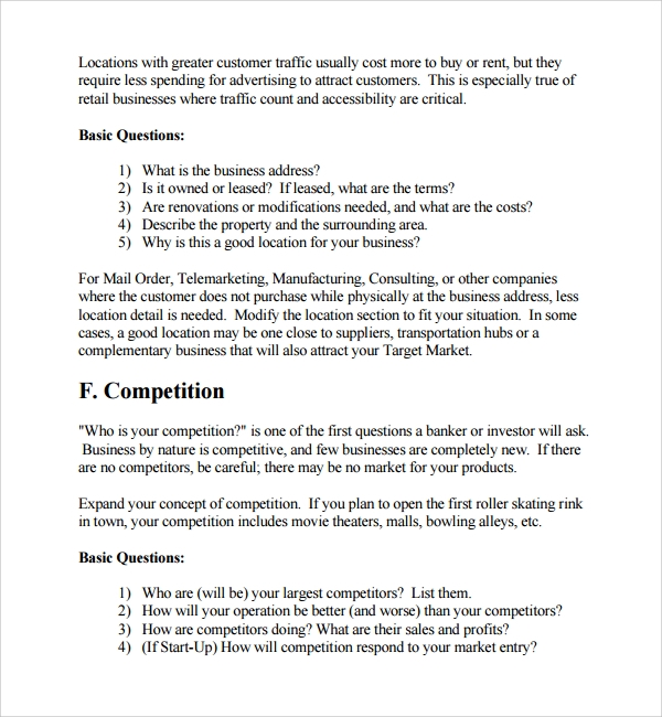 Sample Spending Plan Template   9  Free Documents in PDF Word R8semhO8
