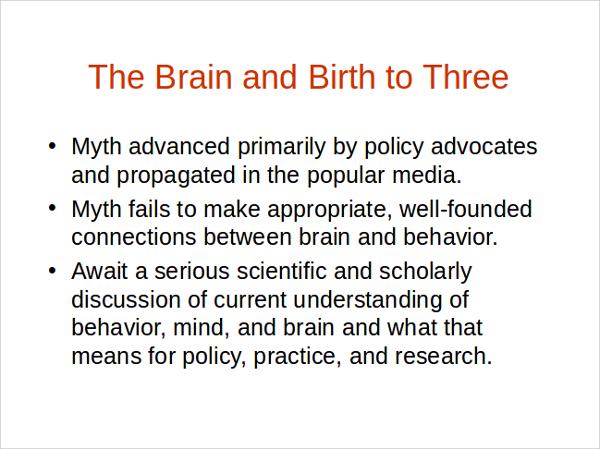 sample brain powerpoint template