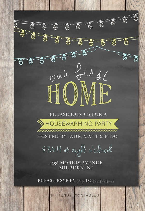 13 Chalk Board Invitation Template Psd Eps Format Download