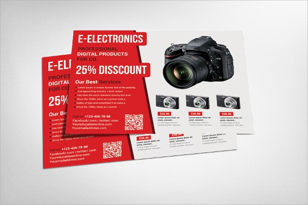 electronic product flyer