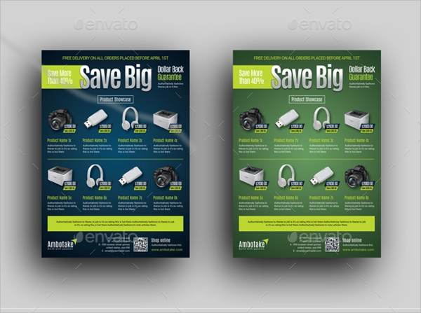 23  product flyer templates
