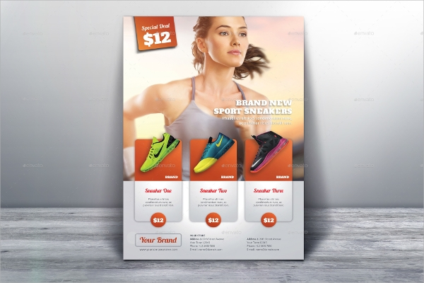 multipurpose product flyer template