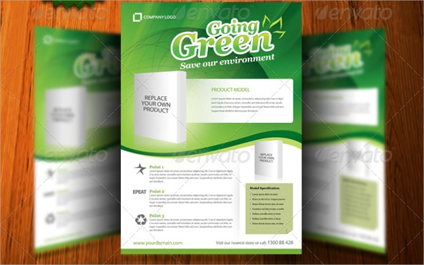amazing product flyer template