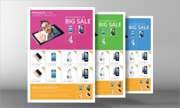 wondrous product flyer template