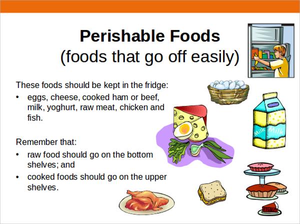 food storage presentation ppt