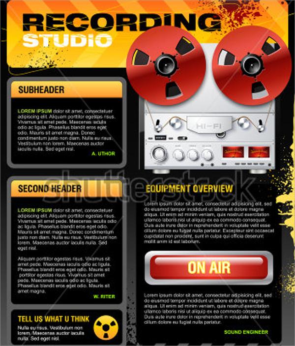vector studio brochure