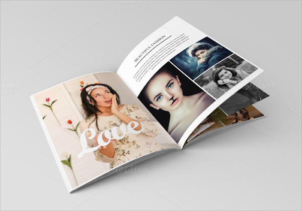 simple studio brochure
