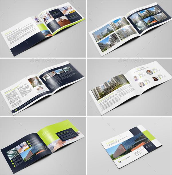 studio brochure design