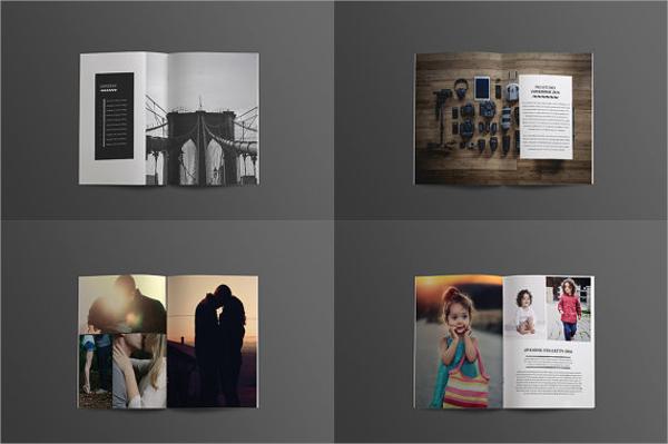 studio lookbook brochure
