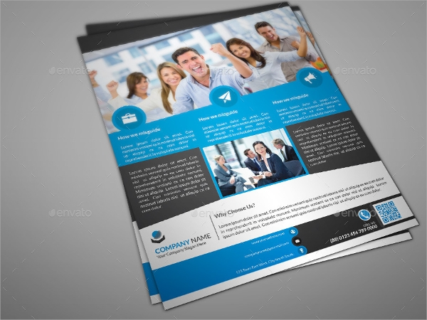 Creative Professional Corporate Flyer Template
