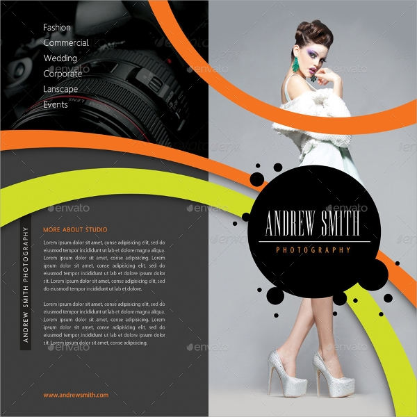 studio bifold brochure