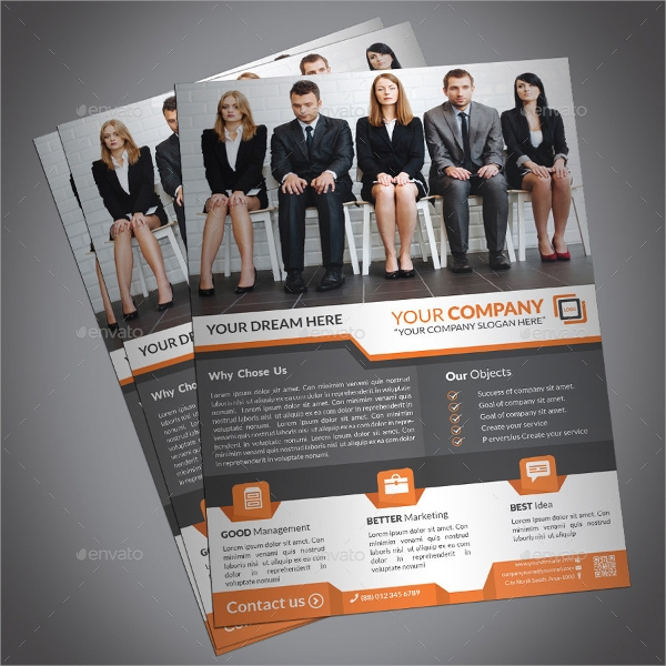 eps format professonal corporate flyer
