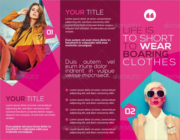 fashion studio brochure