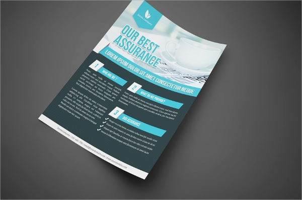 simple professional corporate flyer template