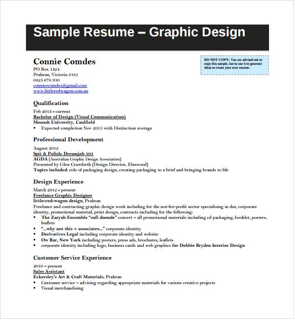 Preferred resume file format