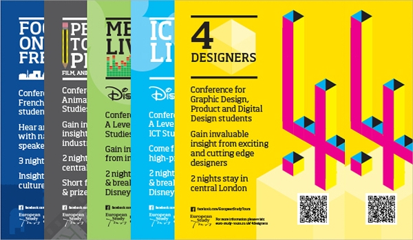 simple conference flyer