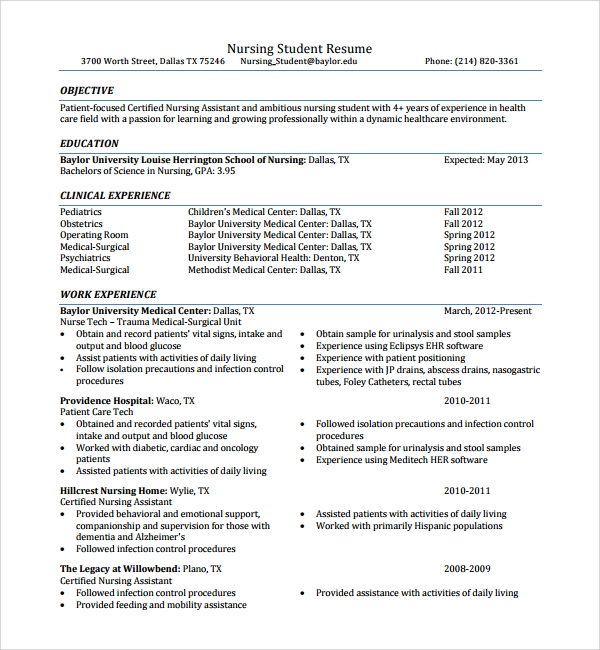 Ait On Resume Sample