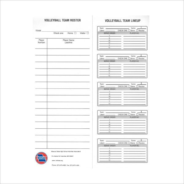 Gutsy image within volleyball rotation sheet printable