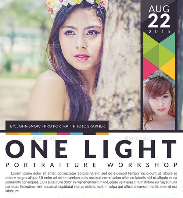 Photography Workshop Flyer Template