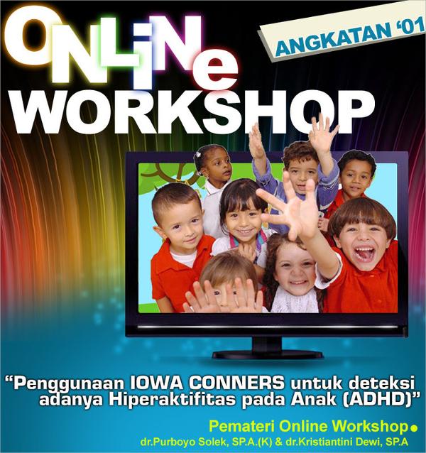 online workshop flyer template