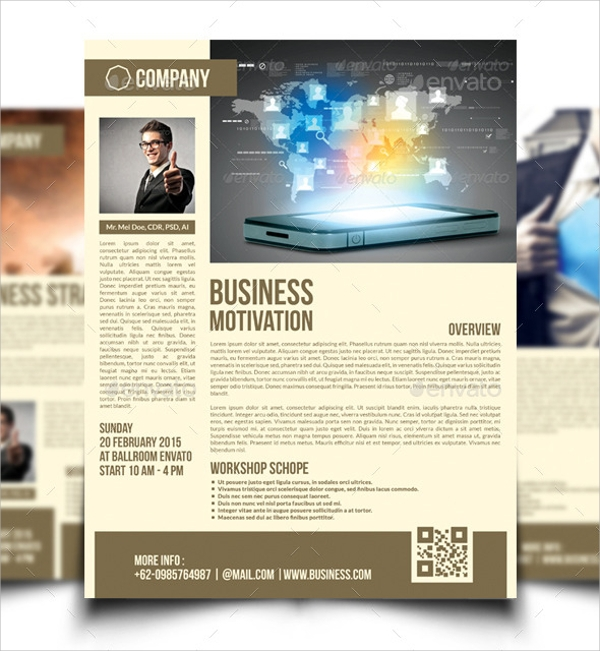26  workshop flyer templates