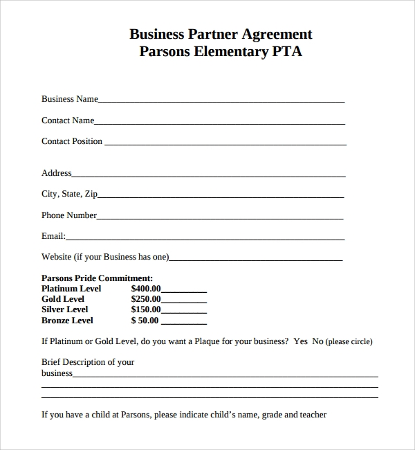 Arizona Partnership Agreement. A General Partnership Is Similar To Doing  Business As A Sole Proprietor, Except You Have Partners To Share The Losses  And ...