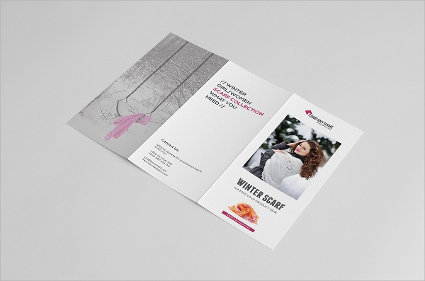 product promotional brochure
