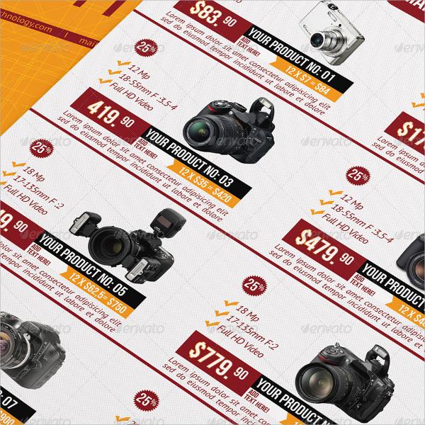 sale promotional brochure