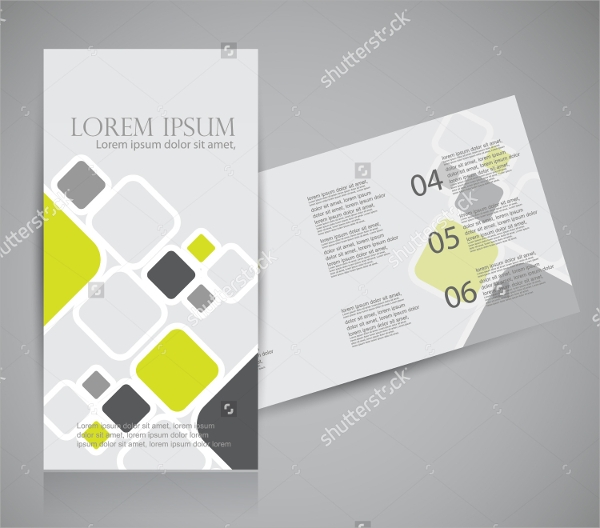 Promotional Brochures  Psd Format Download