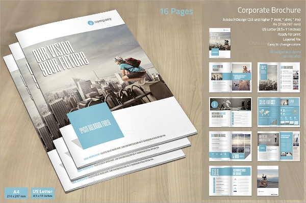 perfect corporate promotional brochure