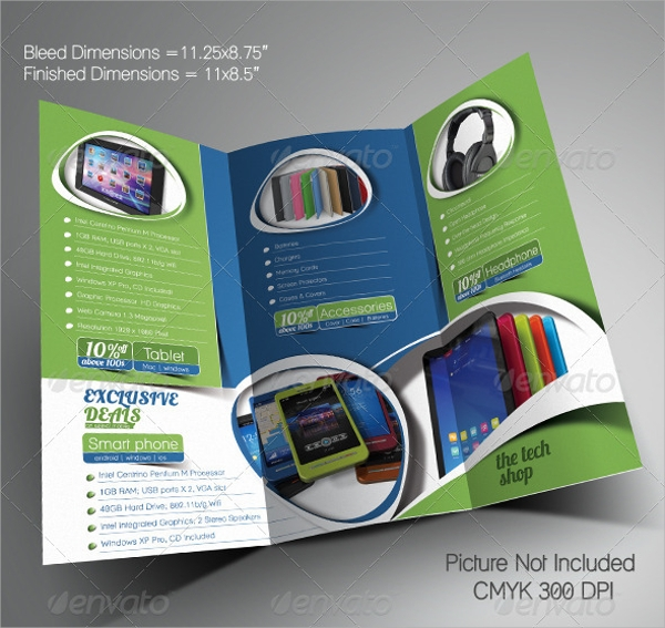 accessories promotional brochure