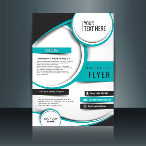 publisher business promotional brochure