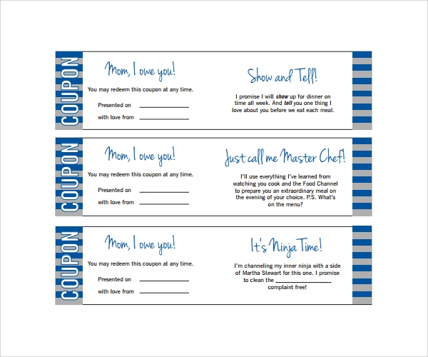 Sample Babysitting Coupon Template 5 Documents Download in PDF PSD – Free Coupon Book Template