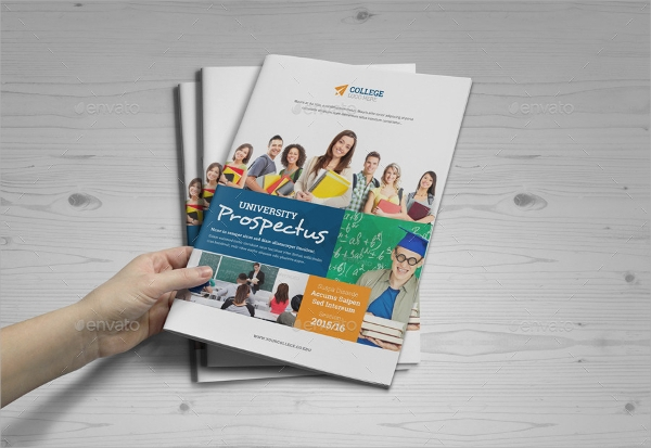 vector eps college brochure