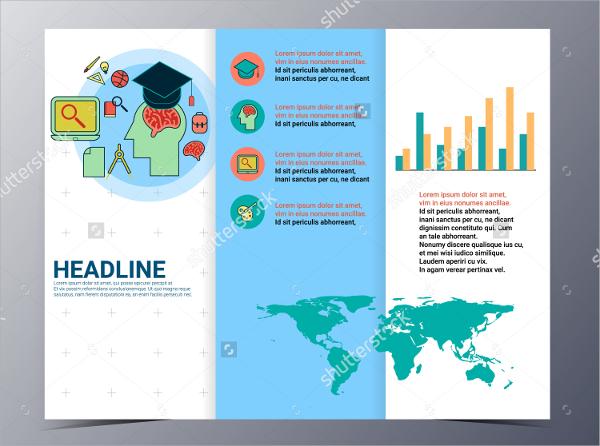 20 College Brochures PSD INDD EPS Format Download – College Brochure