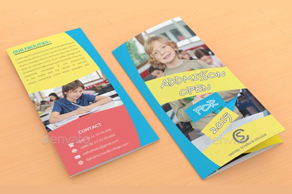 promotional college brochure